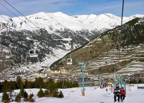 горнолыжные курорты франции